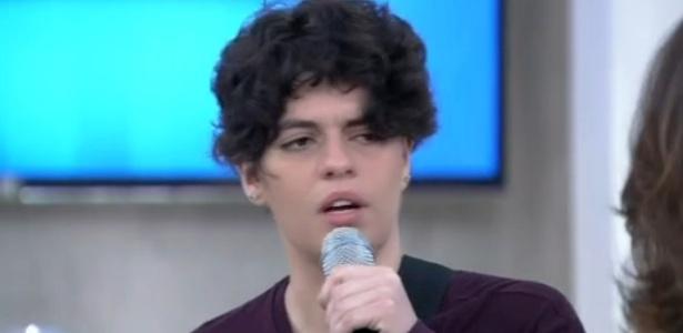 Tacy de Campos, que interpreta Cássia Eller em musical, diz que não via semelhanças entre a cantora e ela - Reprodução/TV Globo