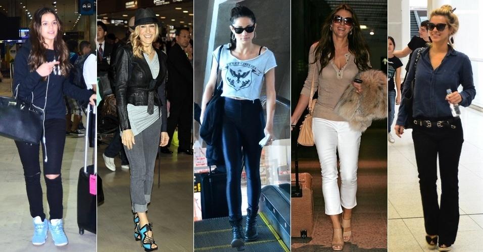 f86959cec Fotos: Veja como as celebridades se vestem para viajar com estilo ...