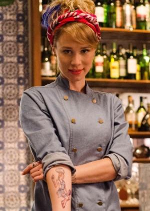 Mariana Ximenes encarna a chef Lola