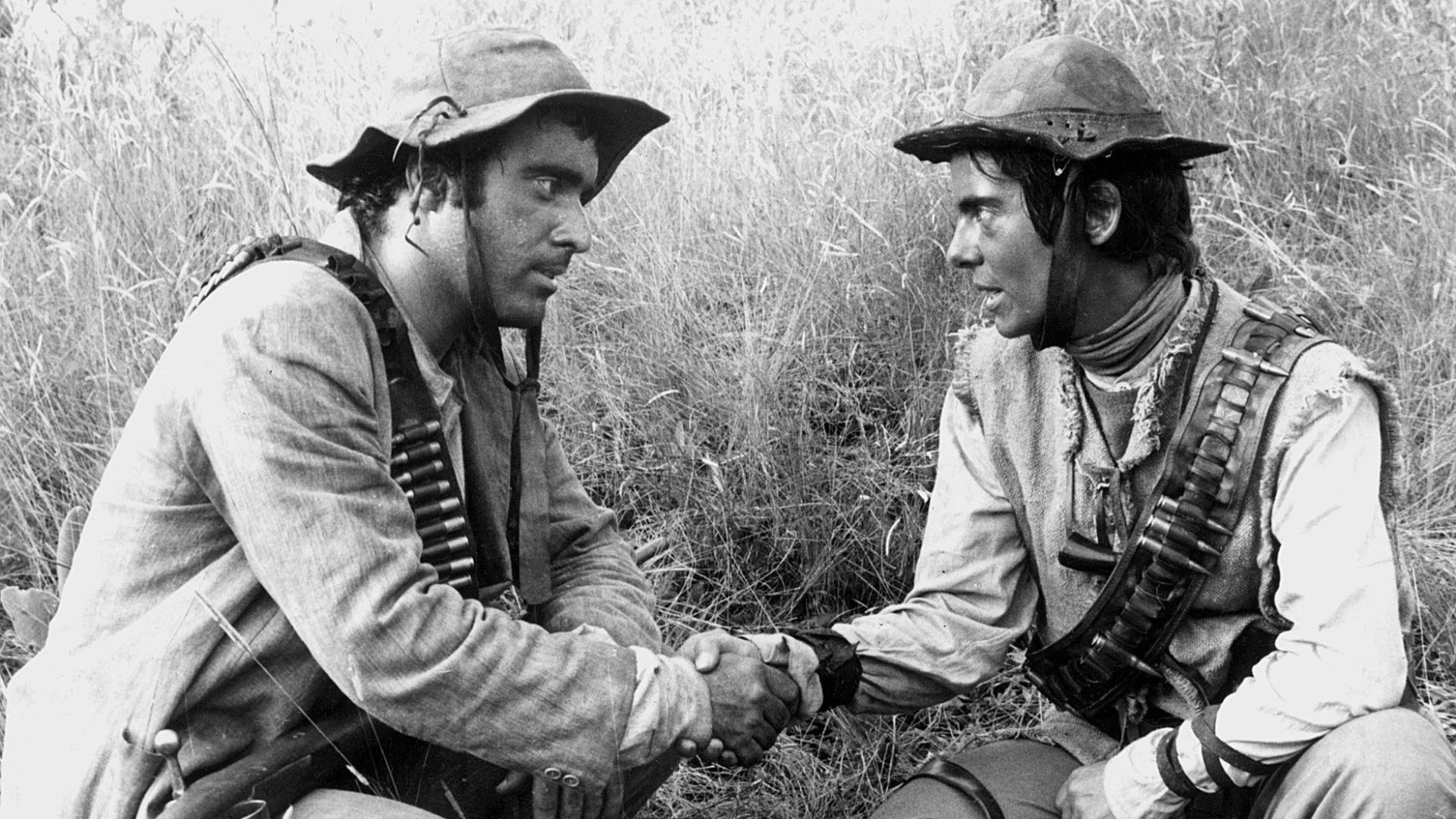 1985 - Os atores Tony Ramos e Bruna Lombardi em cena da minissérie