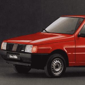 Fiat Uno Mille 1990 - Divulgação