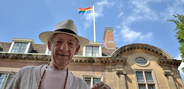 O ator Ian McKellen que prestará homenagem aos 400 anos da morte de Shakespeare - Reprodução/Facebook/Ian McKellen