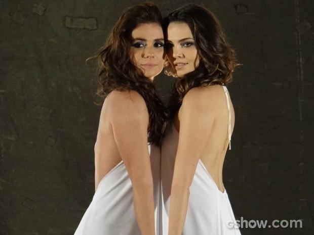 Em Família:Clara e Marina já não escondem a feliciada pela uniçao e posam juntas em ensaio fotográfico