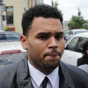 O cantor Chris Brown