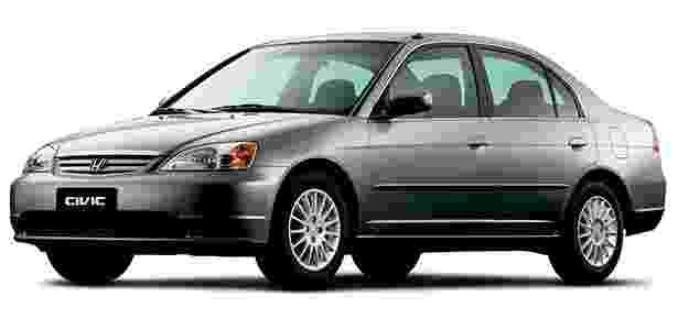Honda Civic 2002 - Divulgação - Divulgação