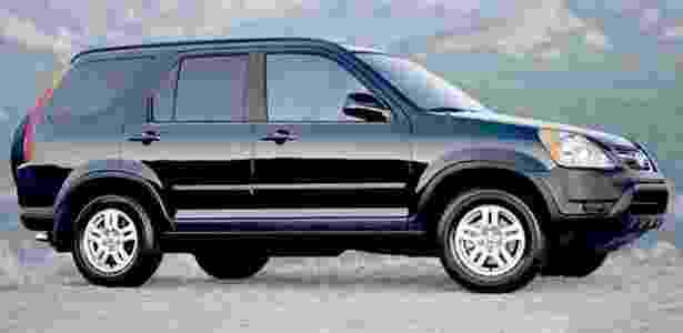 Honda CR-V 2003 - Divulgação - Divulgação