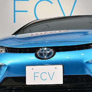 Toyota FCV - Kazuhiro Nogi/AFP