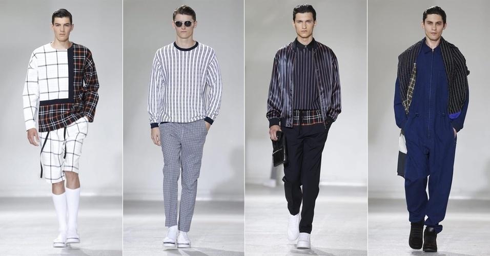 26.jun.2014 - Desfile da 3.1 Phillip Lim na semana de moda masculina d36f72eeaa