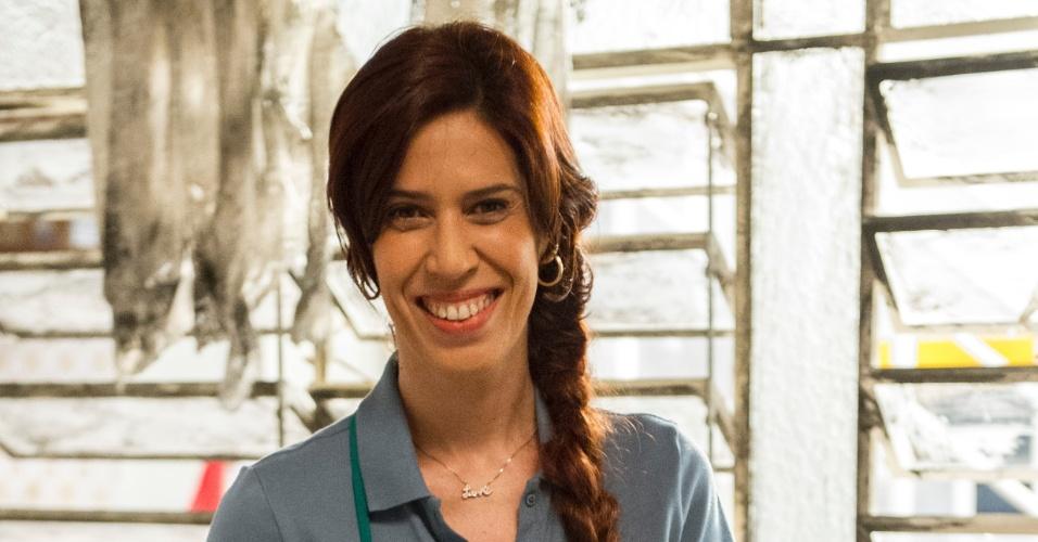 """Lurdinha (Maria Clara Gueiros) vai tentar ser como Nenê (Marieta Severeo) em """"A Grande Família"""""""
