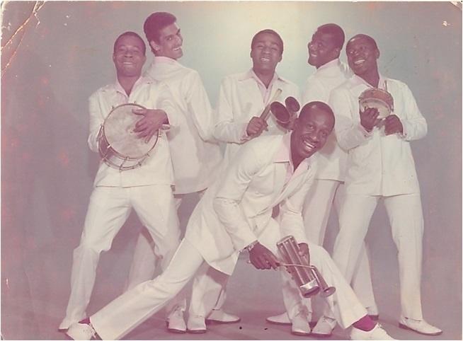 Mussum em foto divulgação dos Originais do Samba