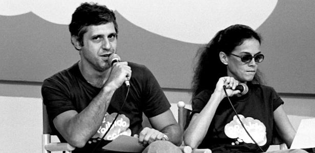 Antonio Fagundes e Clarisse Abujamra apresentavam o programa