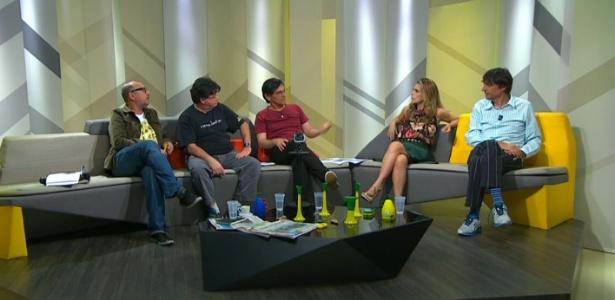 """Xico Sá, Madureira, Paulo Miklos, Maitê Proença e Eduardo Bueno no """"Extra Ordinários"""""""