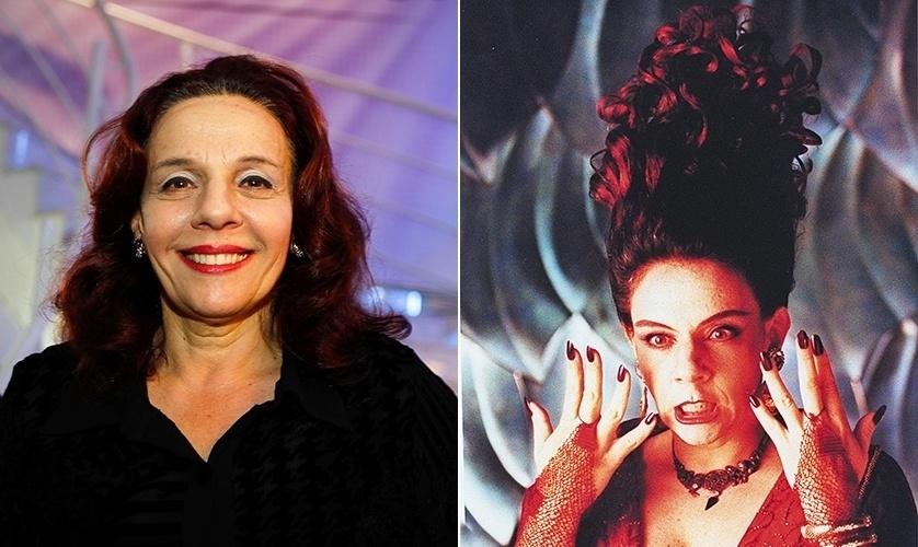 A atriz Rosi Campos era quem dava vida à feiticeira Morgana, tia-avó de Nino