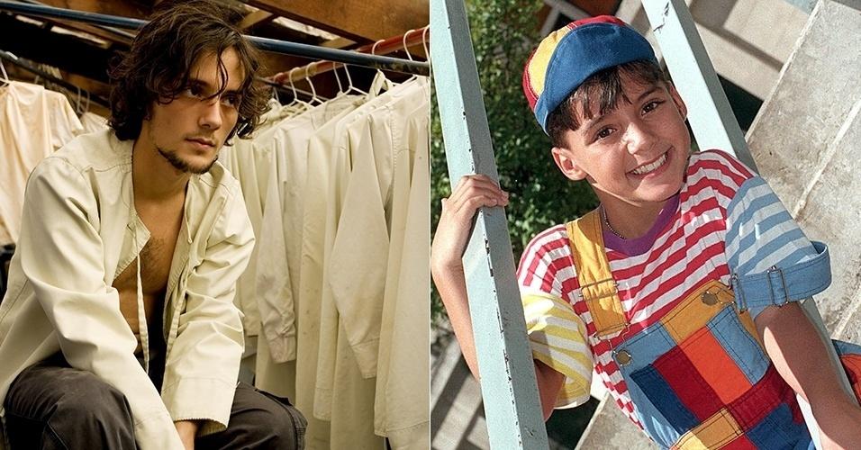 """Caçula da turma, hoje com 29 anos, o ator Fredy Allan fazia o Zequinha, do bordão """"Porque sim, Zequinha!"""""""
