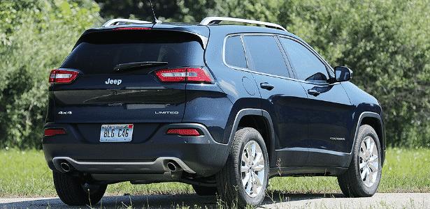 Jeep Cherokee Limited - Divulgação - Divulgação