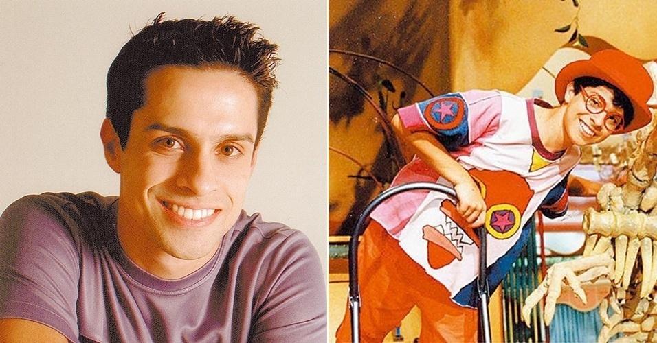 Luciano Amaral, intérprete do personagem Pedro, tem 34 anos e depois do fim de Castelo Rá-Tim-Bum continuou trabalhando na TV, só que como apresentador