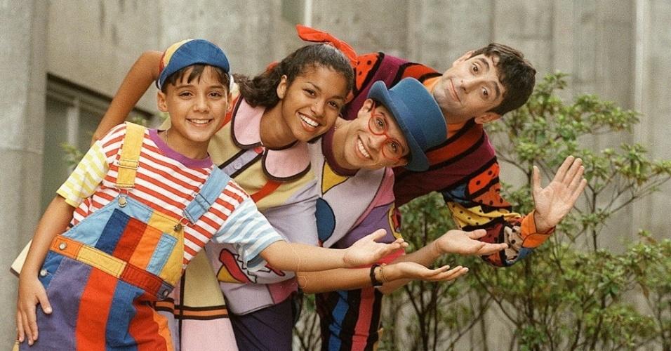 """Os personagen Zequinha, Biba, Pedro e Nino comandavam as aventuras em """"Castelo Rá-Tim-Bum"""""""