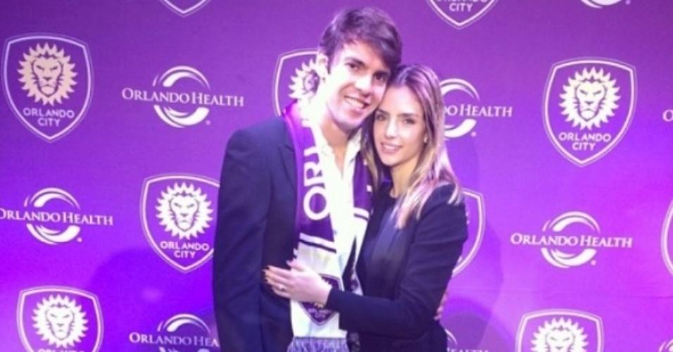 1.jul.2014- Carol Celico se declara para Kaká no Instagram e comemora pelo jogador ter sido emprestado ao São Paulo: