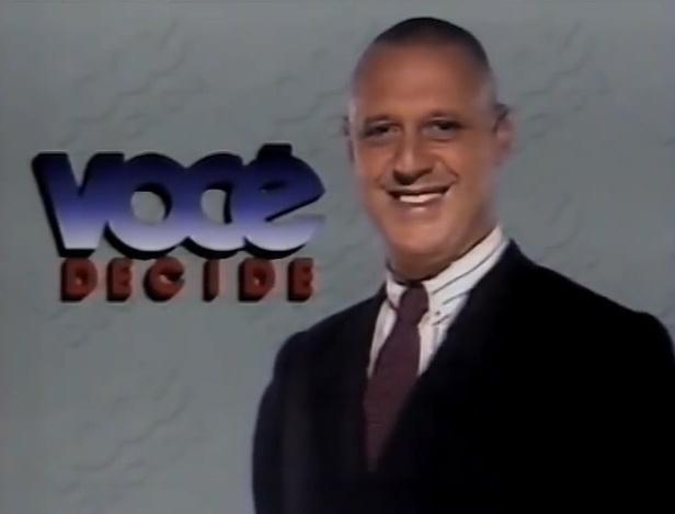 Antônio Fagundes foi um dos primeiros apresentadores do