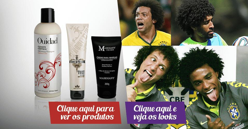 Jogadores e produtos - Adriano Vieira/ArteUOL