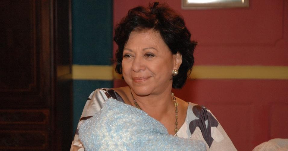 "Manoelita Lustosa como Lourdes em ""Poder Paralelo"""