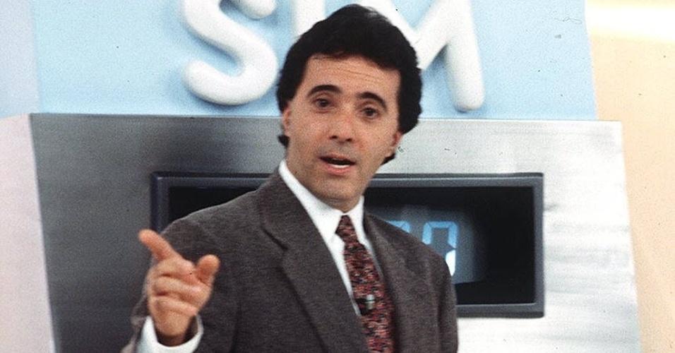 """O ator Tony Ramos foi um dos apresentadores do """"Você Decide"""", na Globo. O seriado saiu do ar em 2000"""