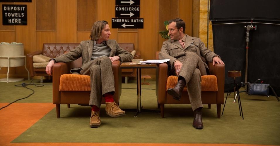 """Cena de """"O Grande Hotel Budapeste"""", do diretor Wes Anderson"""
