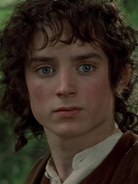 """O ator Elijah Wood como Frodo em """"O Senhor dos Anéis"""" - Reprodução"""