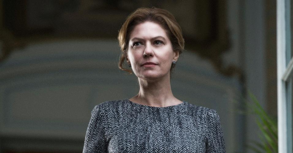 """Patrícia Pillar é Angela Mahler em """"O Rebu"""""""