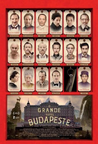 """Pôster de """"O Grande Hotel Budapeste"""", do diretor Wes Anderson"""
