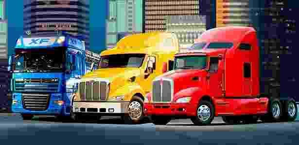 Caminhões Paccar - Divulgação - Divulgação