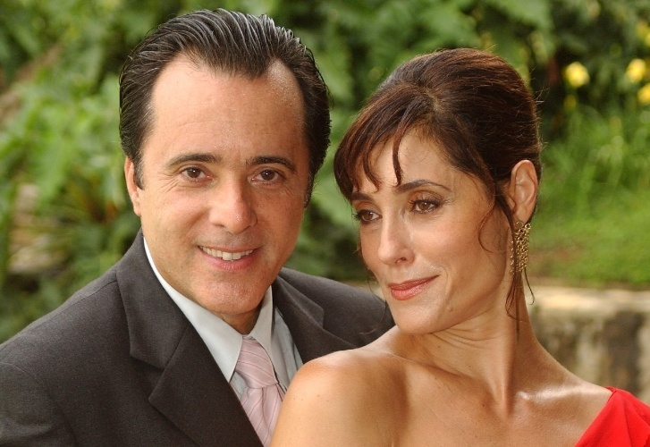 "Helena (Christiane Torloni) e Téo (Tony Ramos) em ""Mulheres Apaixonadas"""