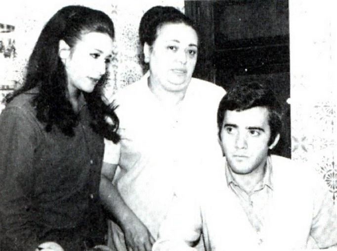 Tony Ramos com Ana Maria Dias e Norah Fontes em