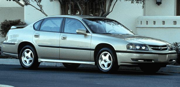 Chevrolet Malibu 2000 - Divulgação - Divulgação