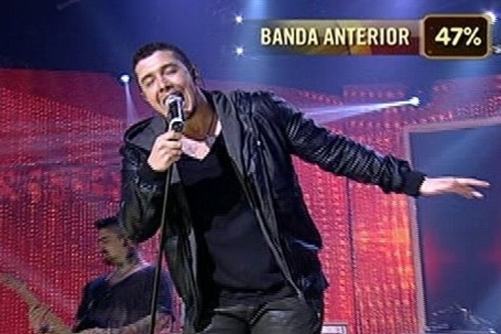 "6.jul.2014 - Banda Malta consegue 74% dos votos e supera o grupo Jamz na final do ""SuperStar"""