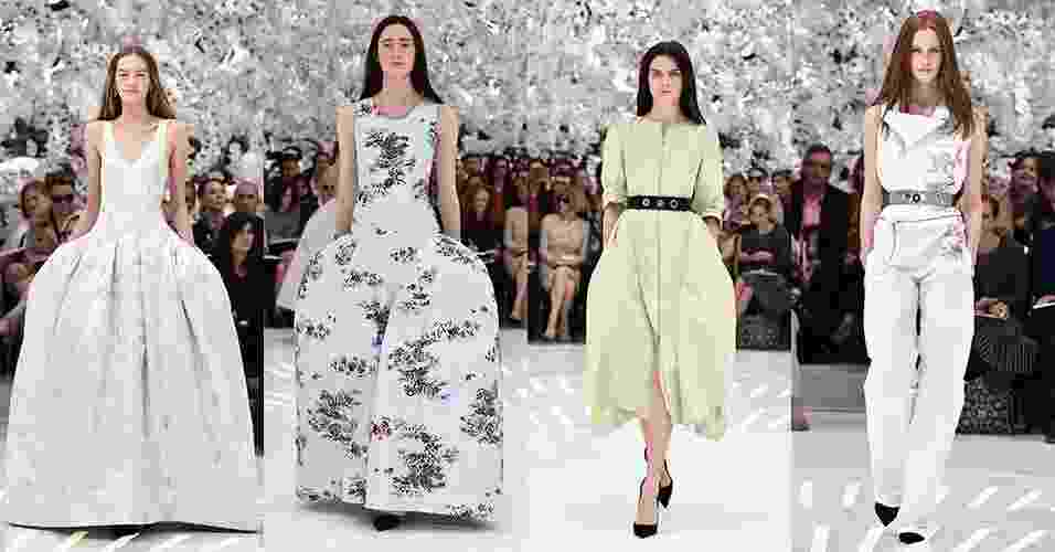 7.jul.2014 - Desfile da Dior, Semana de alta-costura de Paris - Pascal Le Segretain/Getty Images