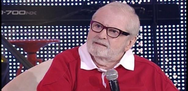 """7.jul.2014 - Jô Soares participa do programa especial do """"Encontro com Fátima Bernardes"""" de dois anos"""