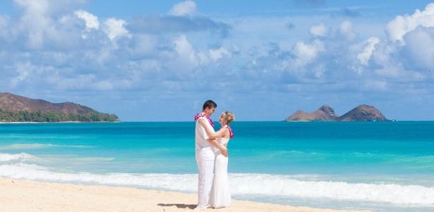 Atualmente, gente comum também pode ter um casamento paradisíaco - Divulgação