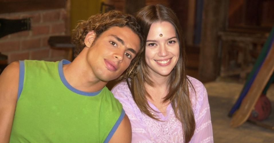Cauã Reymond com Natália Lage em