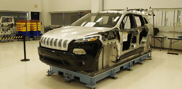 Fábrica da Jeep em Toledo (EUA) - Eugênio Augusto Brito/UOL - Eugênio Augusto Brito/UOL
