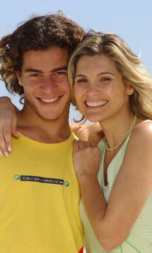 Flávia Alessandra e Thiago Martins em cena da novela