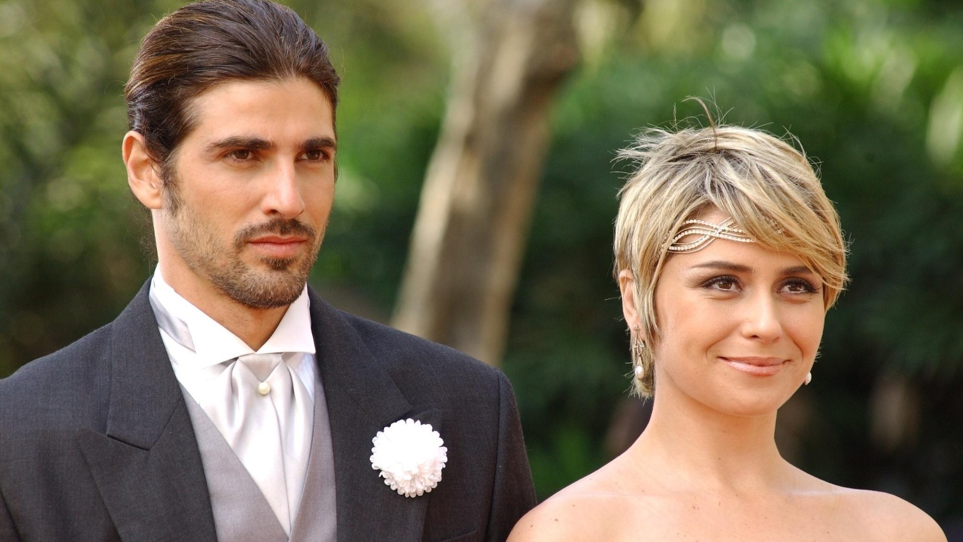 Reynaldo Gianecchini como Paco e Giovanna Antonelli como Barbara em