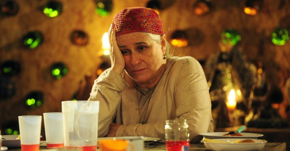 """Vera Holtz era a Mãe Lucinda em """"Avenida Brasil"""", novela que foi licenciada para 130 países e lidera o ranking das mais exportadas da Globo"""