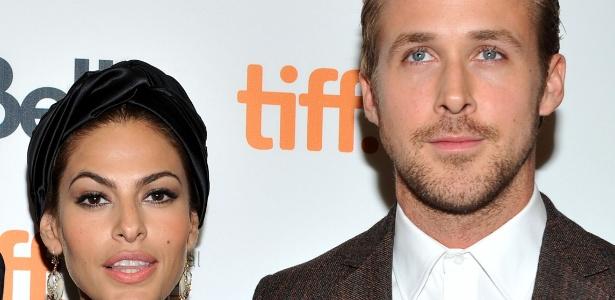 """Eva Mendes e Ryan Gosling se conheceram nas filmagens de """"O Lugar Onde Tudo Termina"""" - Getty Images"""