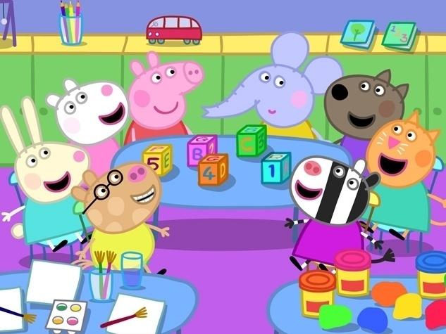 Peppa e seus amigos representam a mentalidade de crianças pré-escolares, com idade que vão de 0 a 4 anos