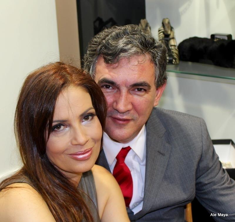 A atriz Isadora Ribeiro e seu namorado Marcos Cordiolli