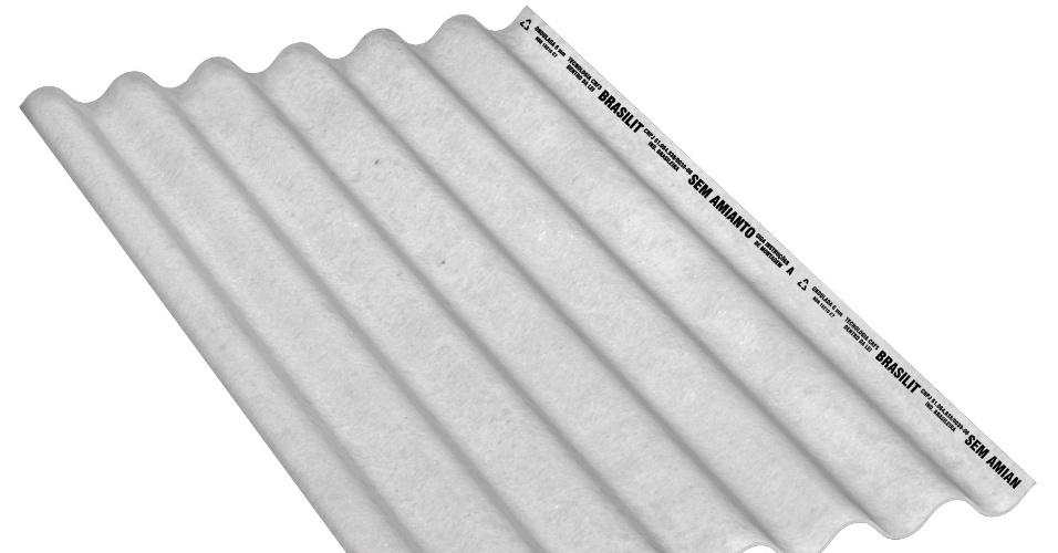 De fibrocimento, a telha da Brasilit (www.brasilit.com.br), modelo Ondulada Residencial, tem 1,1 metro de largura, com comprimentos variáveis de 1,22 m a 3,66 m. O preço médio sugerido é R$ 17 (o m²) I Preços pesquisados em julho de 2014 e sujeitos a alterações