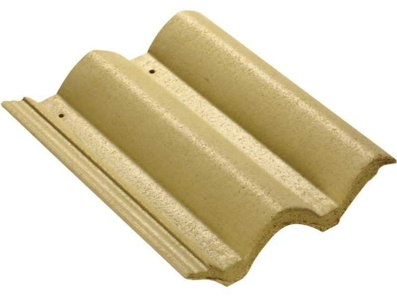 Feita de concreto, a telha da marca Eurotop mede 42 cm por 33 cm e tem peso médio de 4,7 kg (por peça). O produto é vendido na Pinezi (www.pinezi.com) ao custo de R$ 2,24 (a unidade) I Preços pesquisados em julho de 2014 e sujeitos a alterações