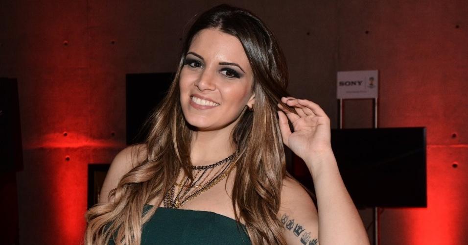 10.jul.2014 - Vencedora do BBB14, Vanessa lança sua Playboy na Bud Mansion, nos Jardins, na zona sul de São Paulo
