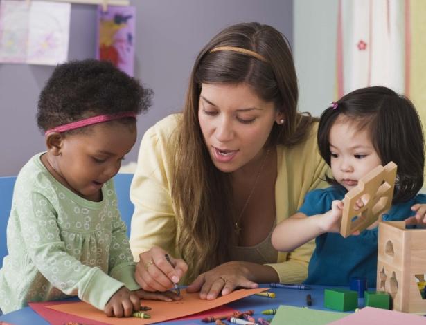 Creche no ambiente de trabalho dá mais segurança e tranquilidade para os pais no dia a dia - Getty Images